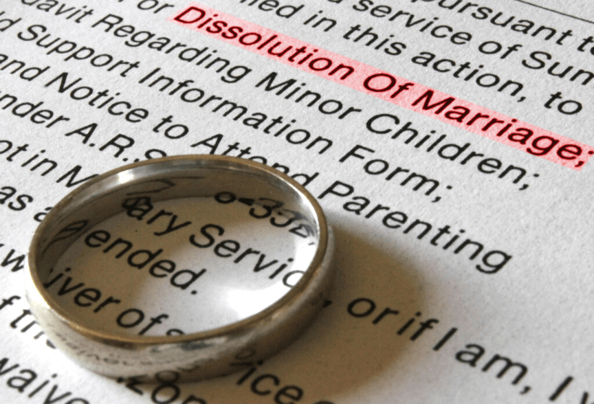 how to get a dissolution of marriage